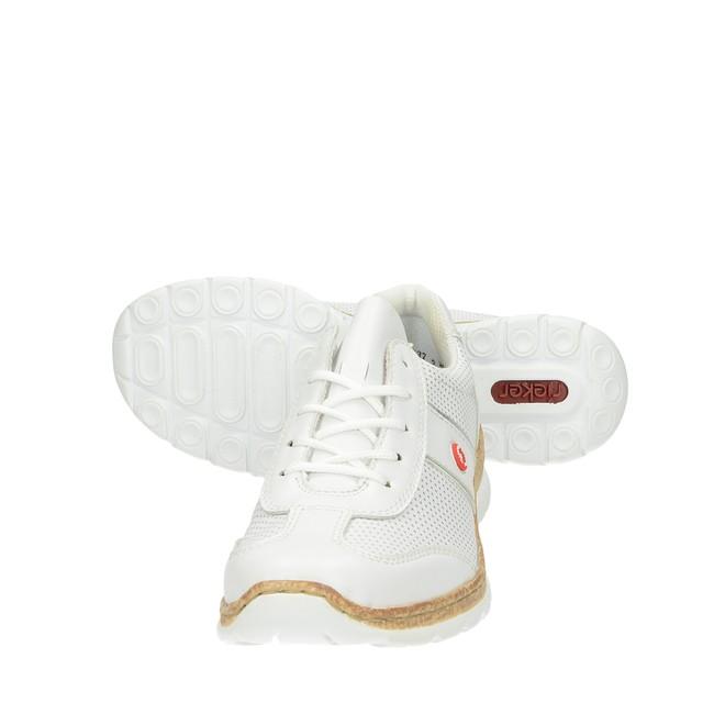 ... Rieker dámske pohodlné tenisky - biele ... 0599bce4e9