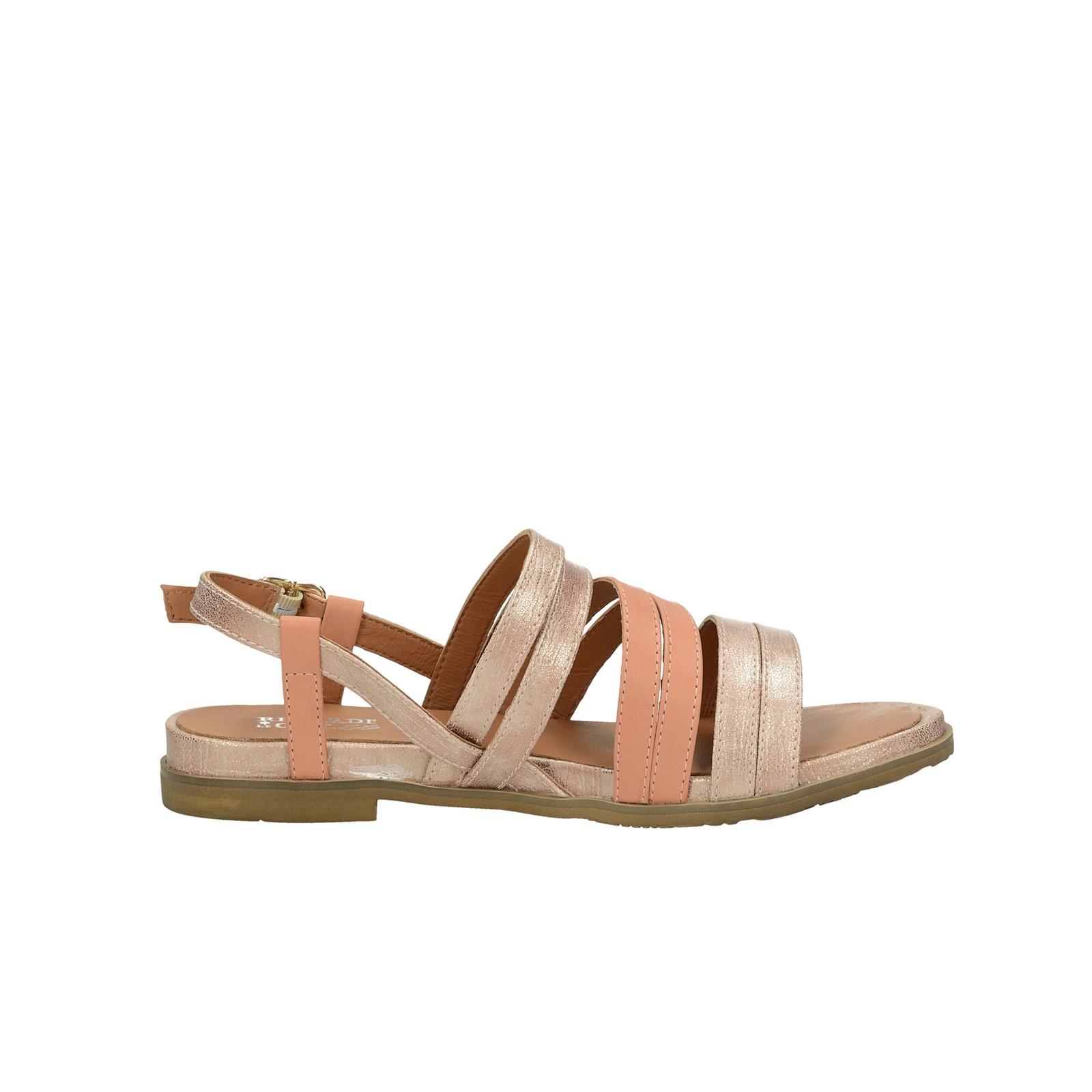 6e817b0c90 ... Regarde le ciel dámske kožené sandále - ružové ...