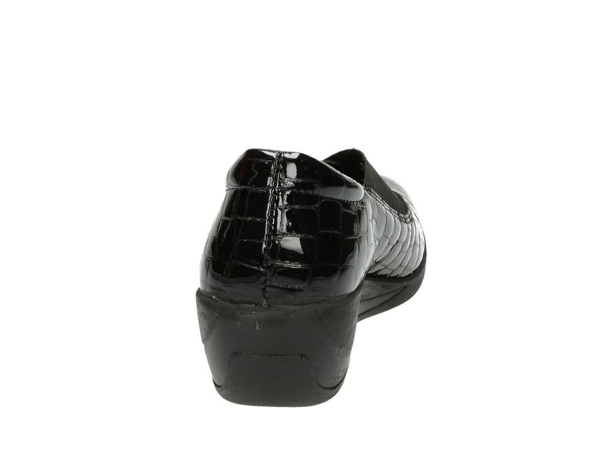 Robel dámske poltopánky - čierne