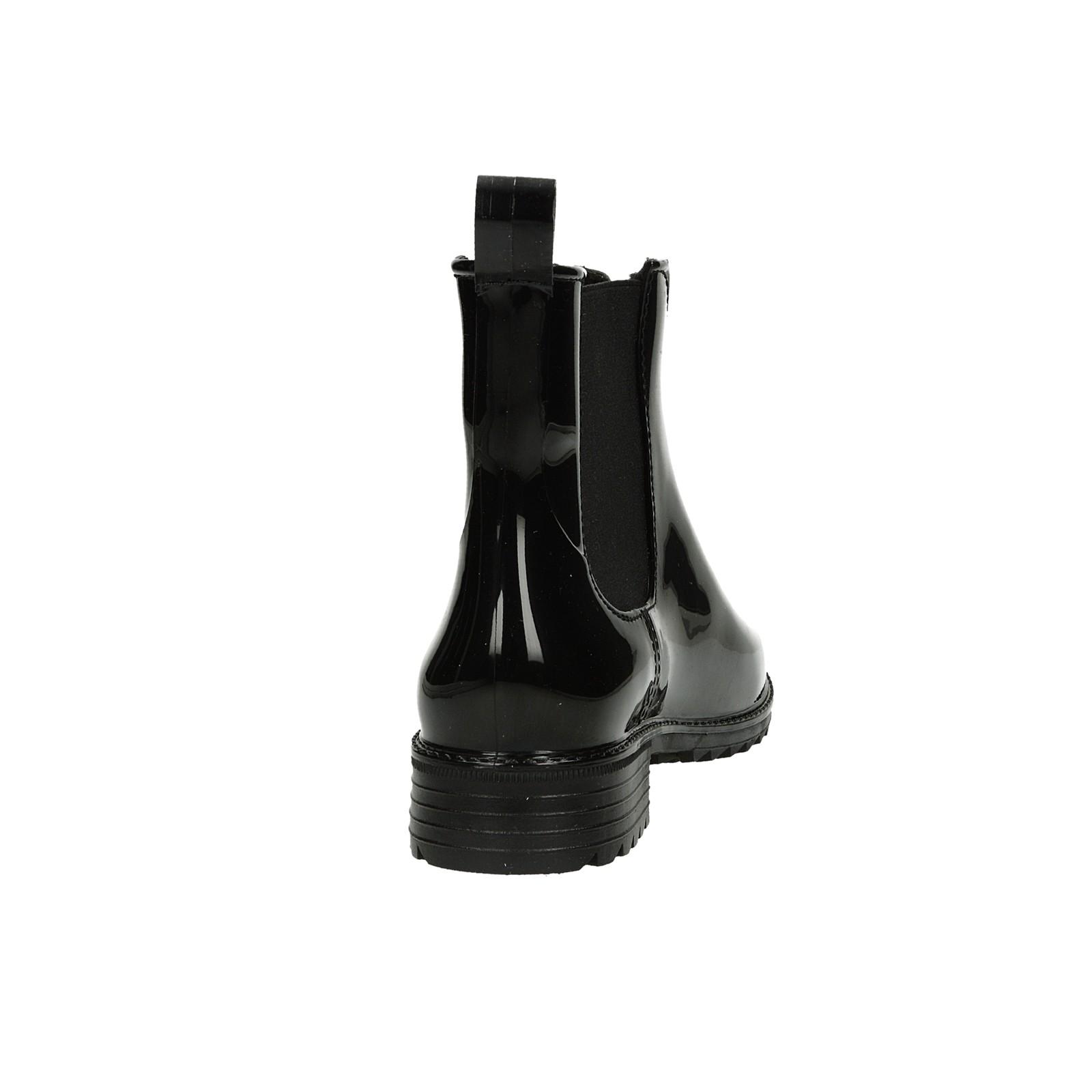 e443c3f4d714 ... Rieker dámske gumené kotníky - čierne ...