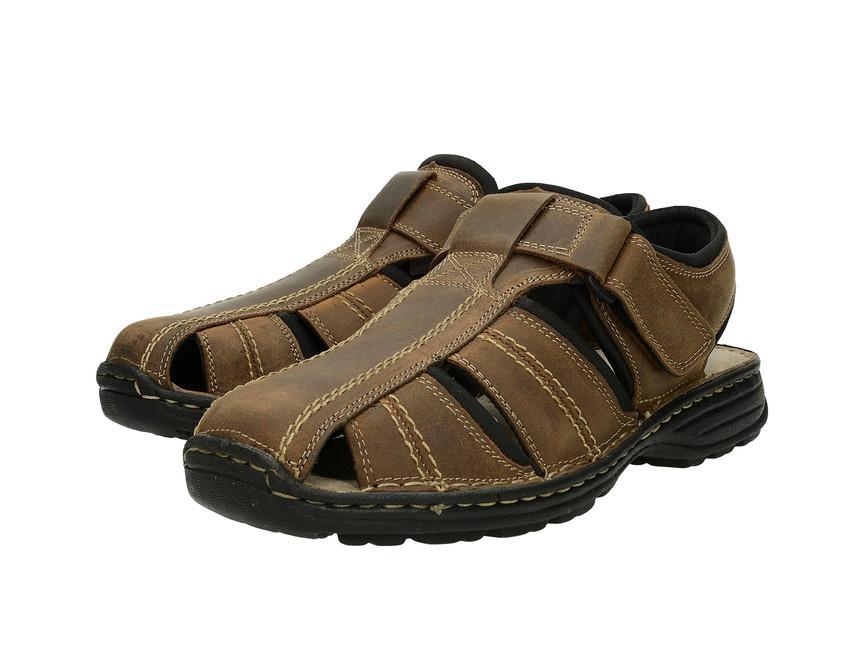 Klondike pánske sandále - hnedé ... bb8b4c39fb6