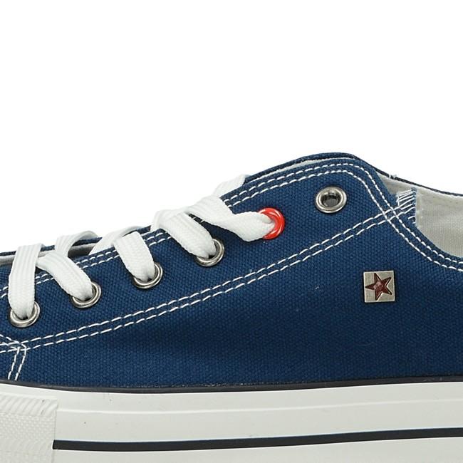 Big Star pánske plátené tenisky - modré