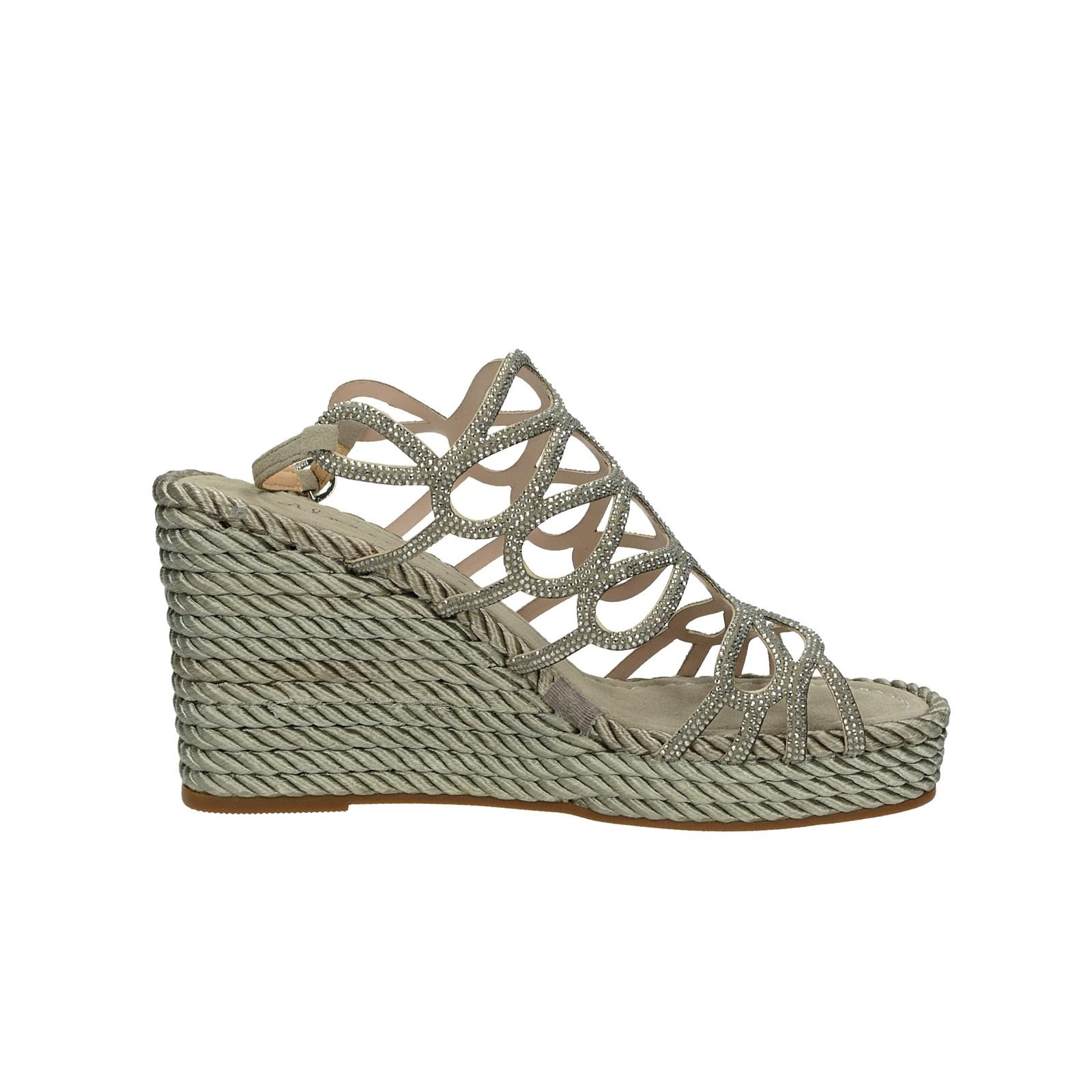 Alma en Pena dámske elegantné sandále - šedé