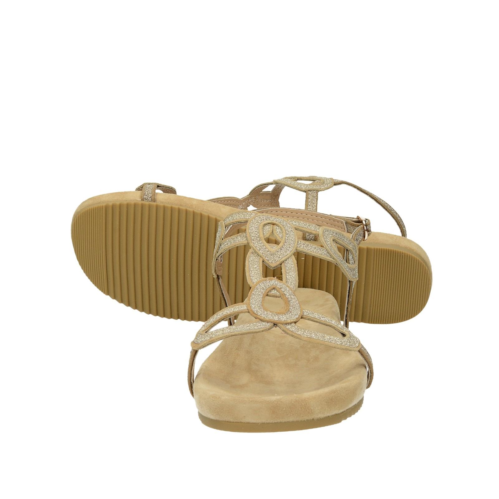Alma en Pena dámske pohodlné sandále s remienkom - béžové