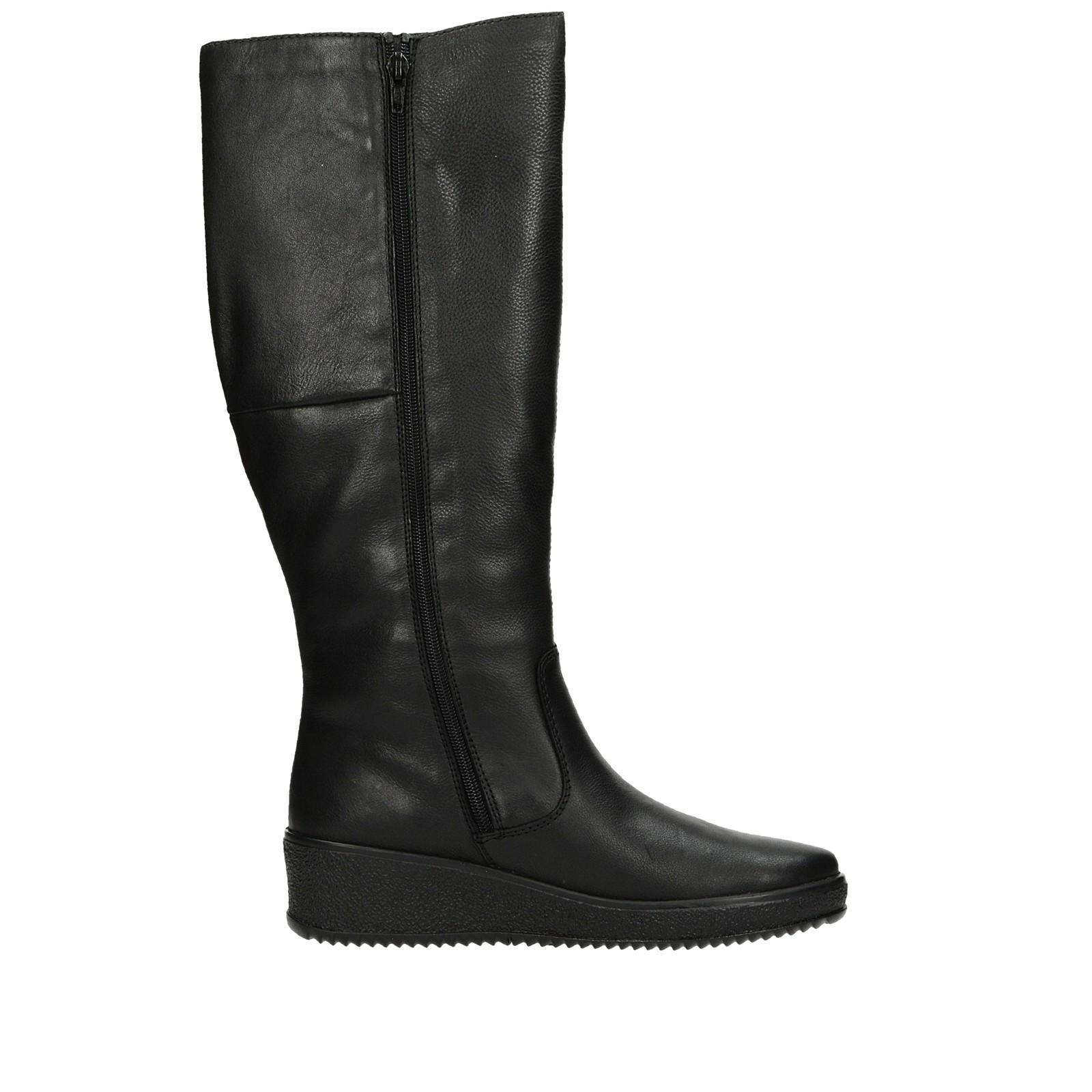 f29df54a80a5f Rieker dámske štýlové vysoké čižmy - čierne | Y446000-BLK www.robel.sk