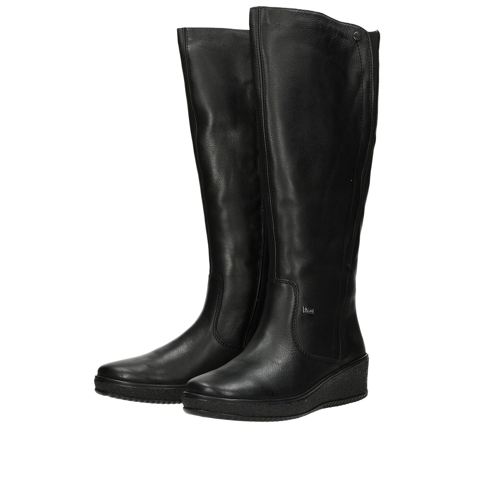 6da0065f88 ... Rieker dámske štýlové vysoké čižmy - čierne ...