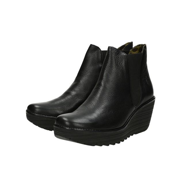 3388936ddfb8 ... Fly London dámske módne kotníky - čierne ...