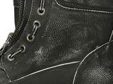 Mustang dámske lesklé kotníky - šedé