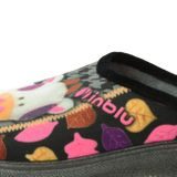 Inblu dámska zateplená domáca obuv s motívom - viacfarebná