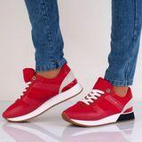 Tommy Hilfiger dámske štýlové tenisky - červené