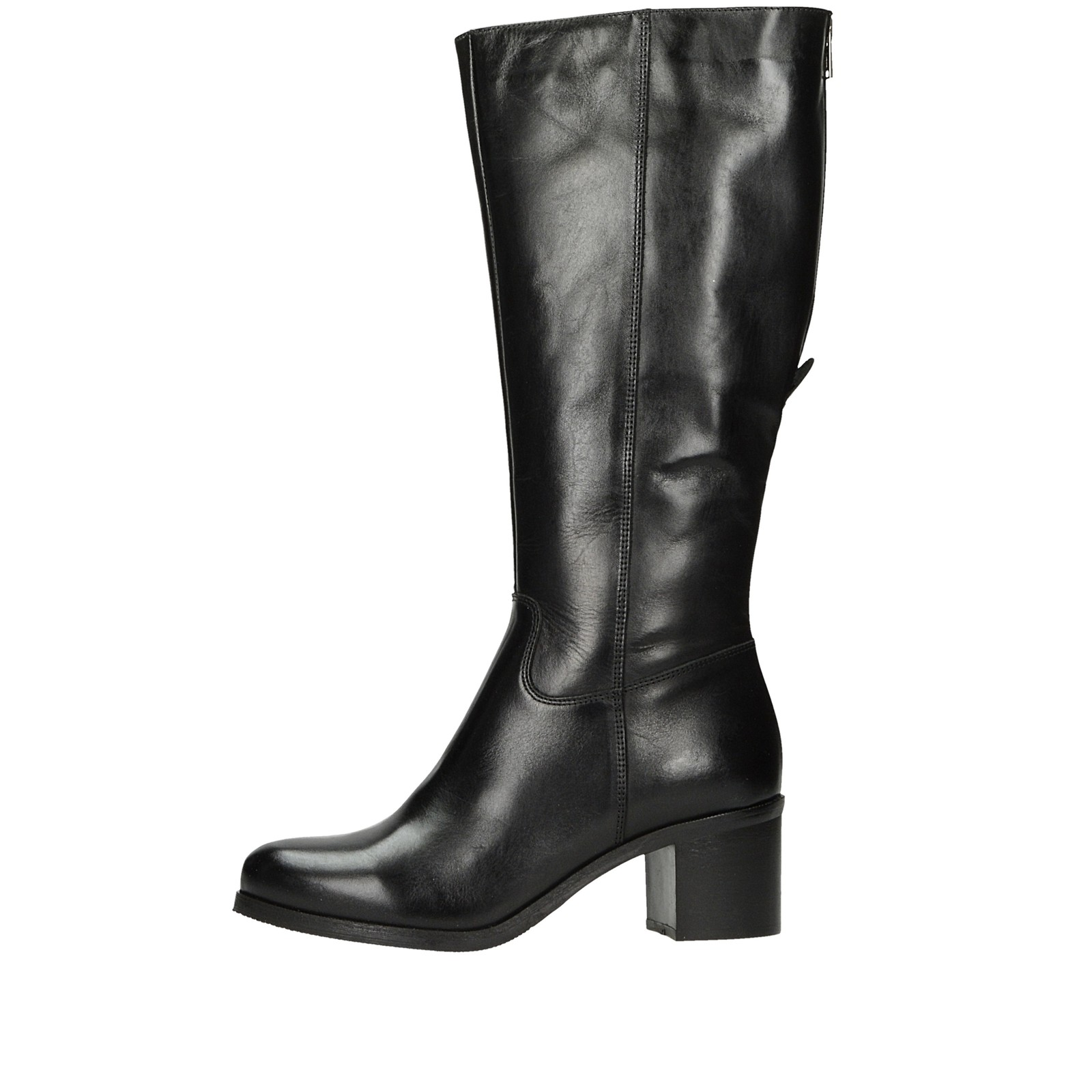 5530d2ba11e50 Acord dámske kožené vysoké čižmy - čierne | 1592-BLK www.robel.sk