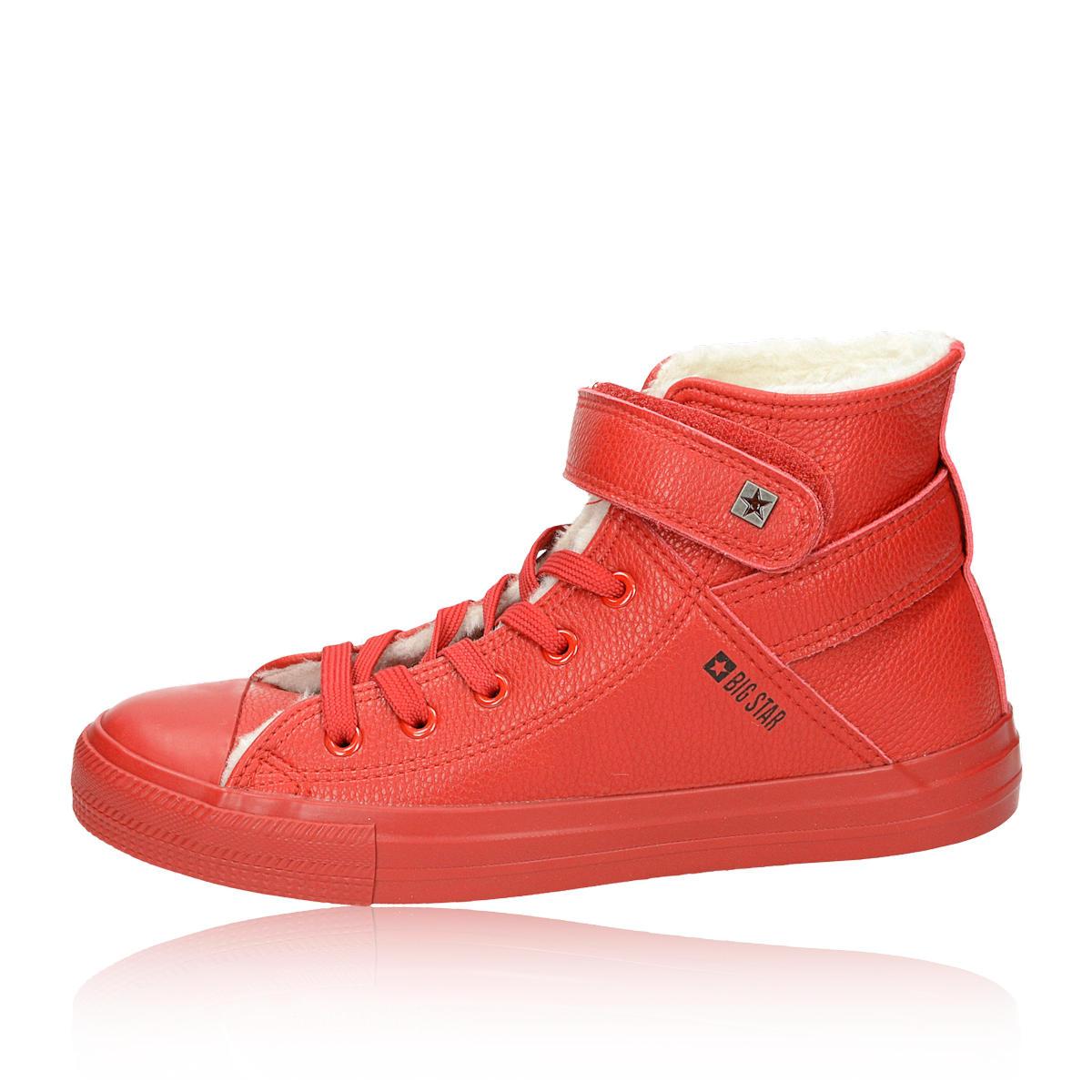 c18b2b2671 ... Big Star dámske štýlové tenisky - červené ...
