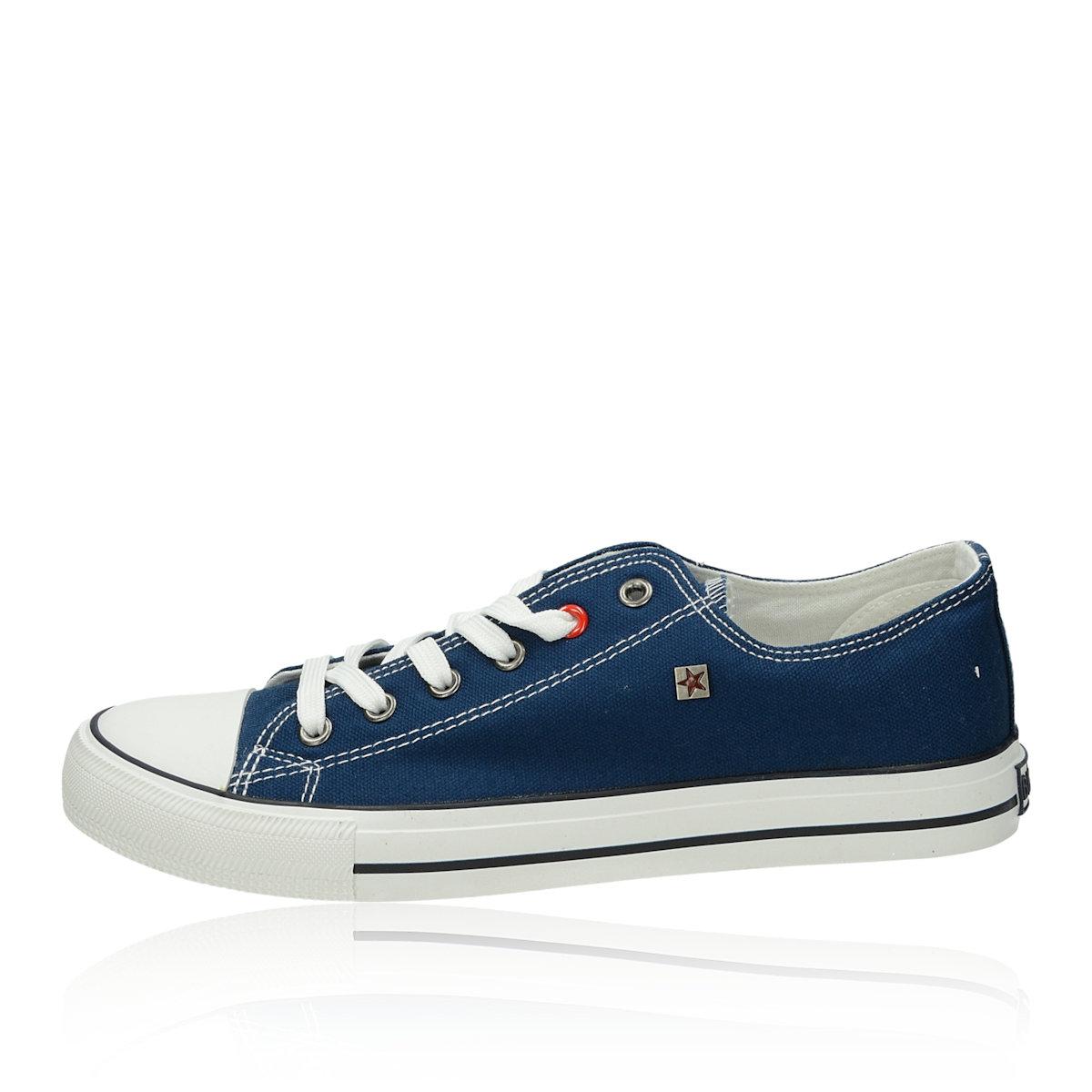 3685003f07ff0 Big Star pánske plátené tenisky - modré | T174101-NAVY www.robel.sk