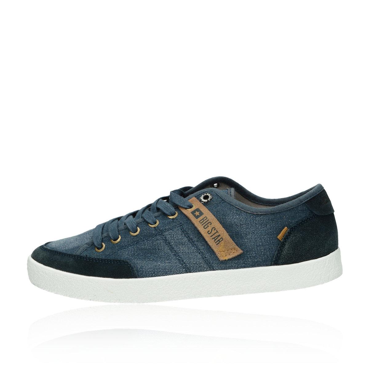 864d1e97420 Big Star pánske textilné tenisky - modré