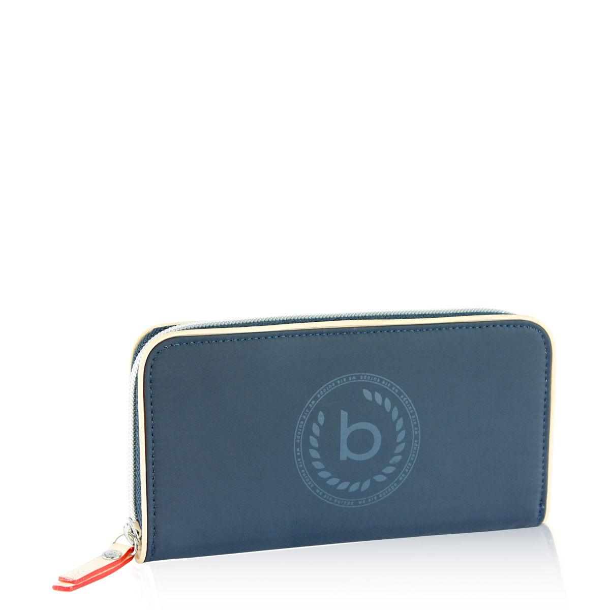 Bugatti dámska štýlová peňaženka - modrá