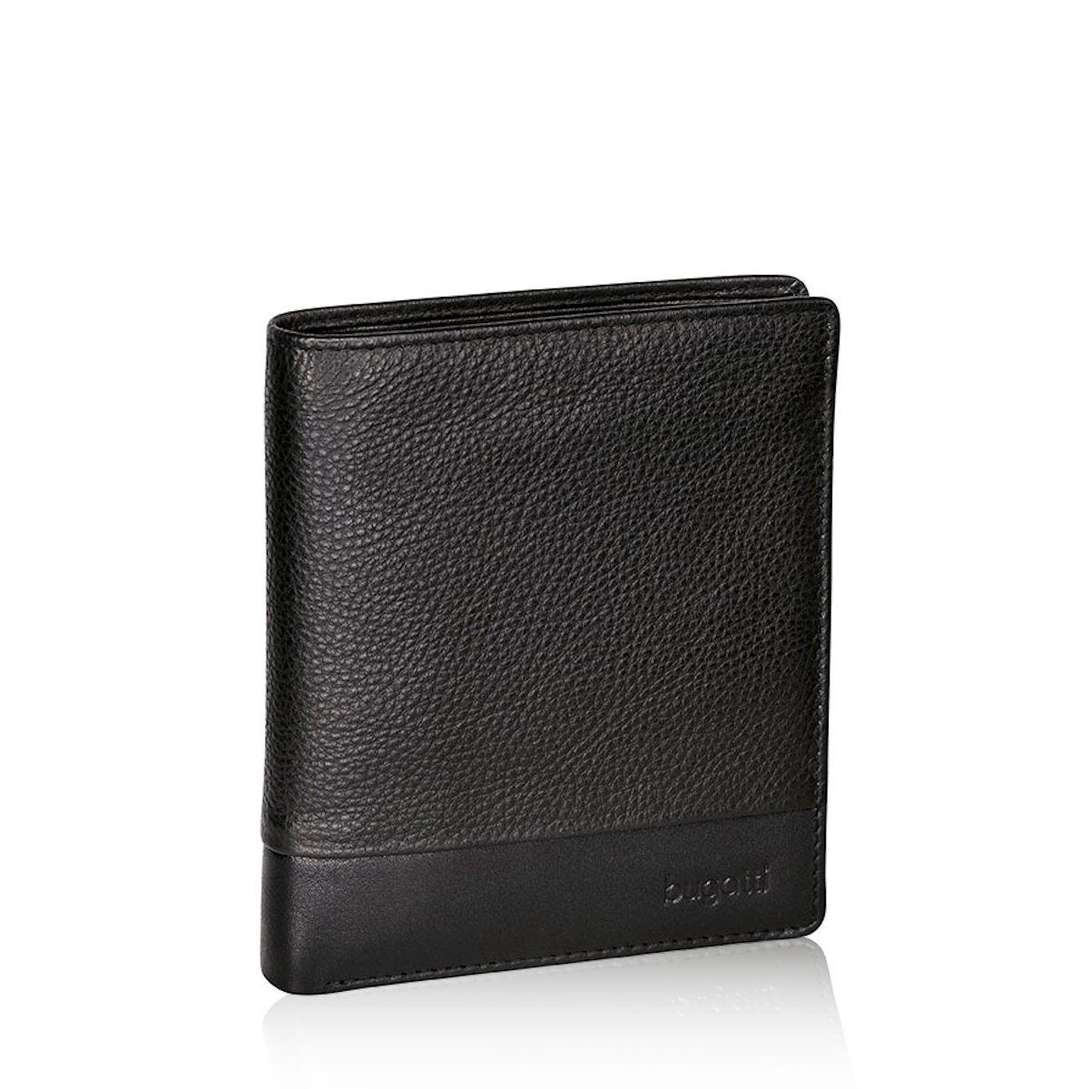 Bugatti pánska kožená peňaženka - čierna ... 45e6627f902