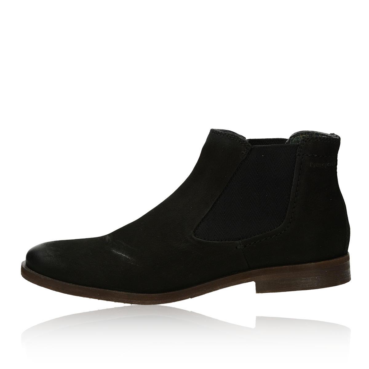 ... Bugatti pánska štýlová členková obuv - čierna ... c1100e8294e