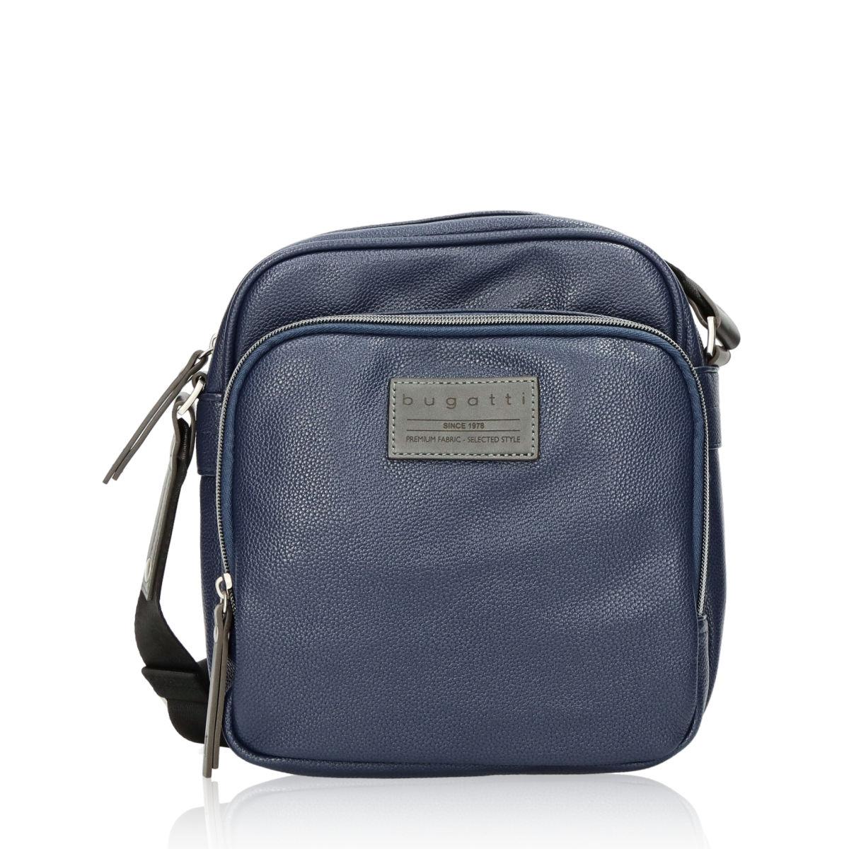 92be9128e0 Bugatti pánska taška - modrá ...