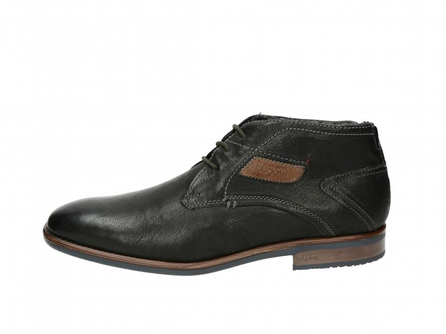 5cd04fb0a099 Bugatti pánske zateplené topánky - čierne Bugatti pánske zateplené topánky  - čierne ...