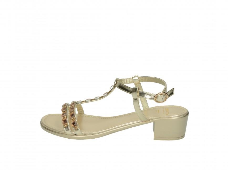 a0a924a69da9 Cerutti dámske sandále - zlaté Cerutti dámske sandále - zlaté ...