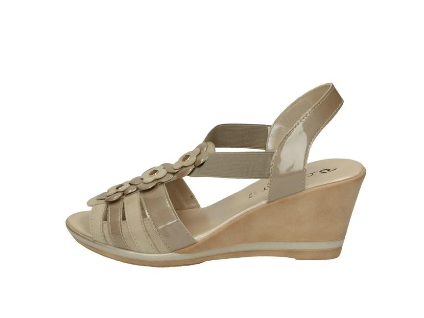 Confort SPA dámske sandále - béžové