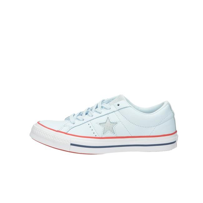Converse dámske kožené tenisky - modré Converse dámske kožené tenisky -  modré ... 54422b2951b