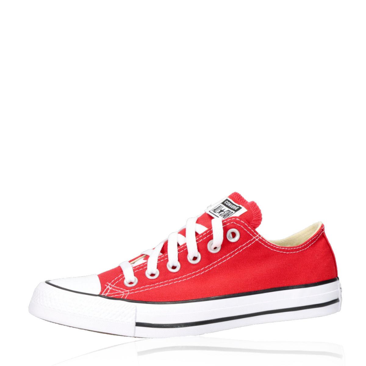 37f0573aaf3bf Converse dámské štýlové plátené tenisky - červené | M9696-RED www ...
