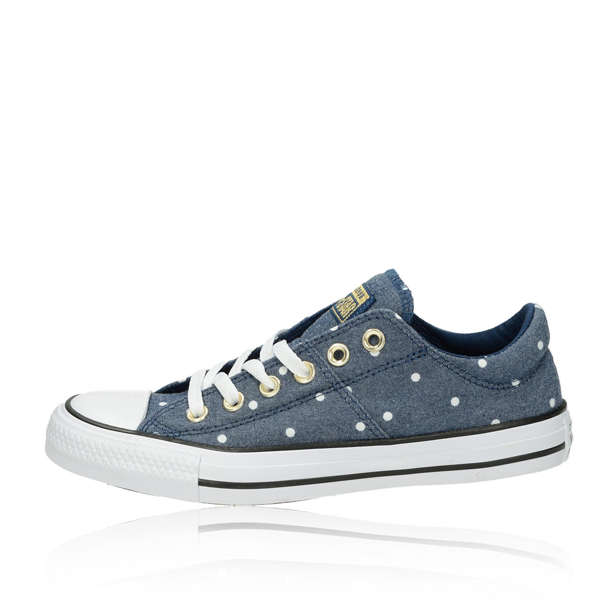 ... Converse dámske tenisky s bodkovaným motívom - modré ... 741f3ddb54a