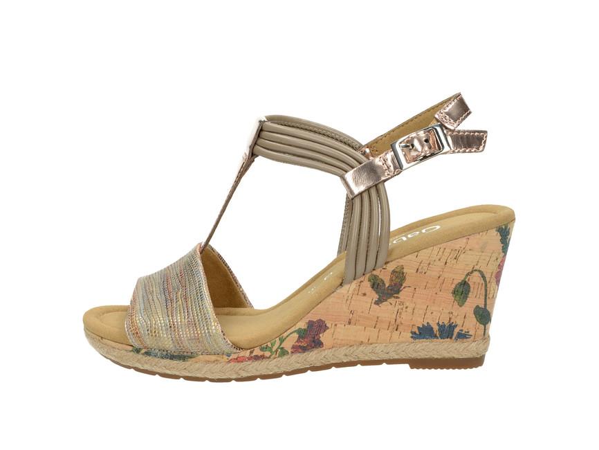 Gabor dámske štýlové sandále - béžové Gabor dámske štýlové sandále - béžové  ... bcb52167a29