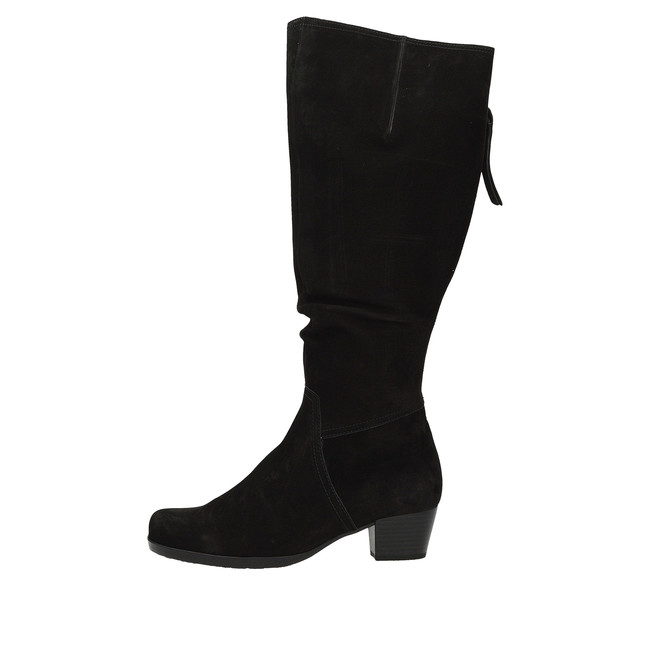 1a5bbb4da0 ... Gabor dámske zimné čižmy na podpätku- čierne ...