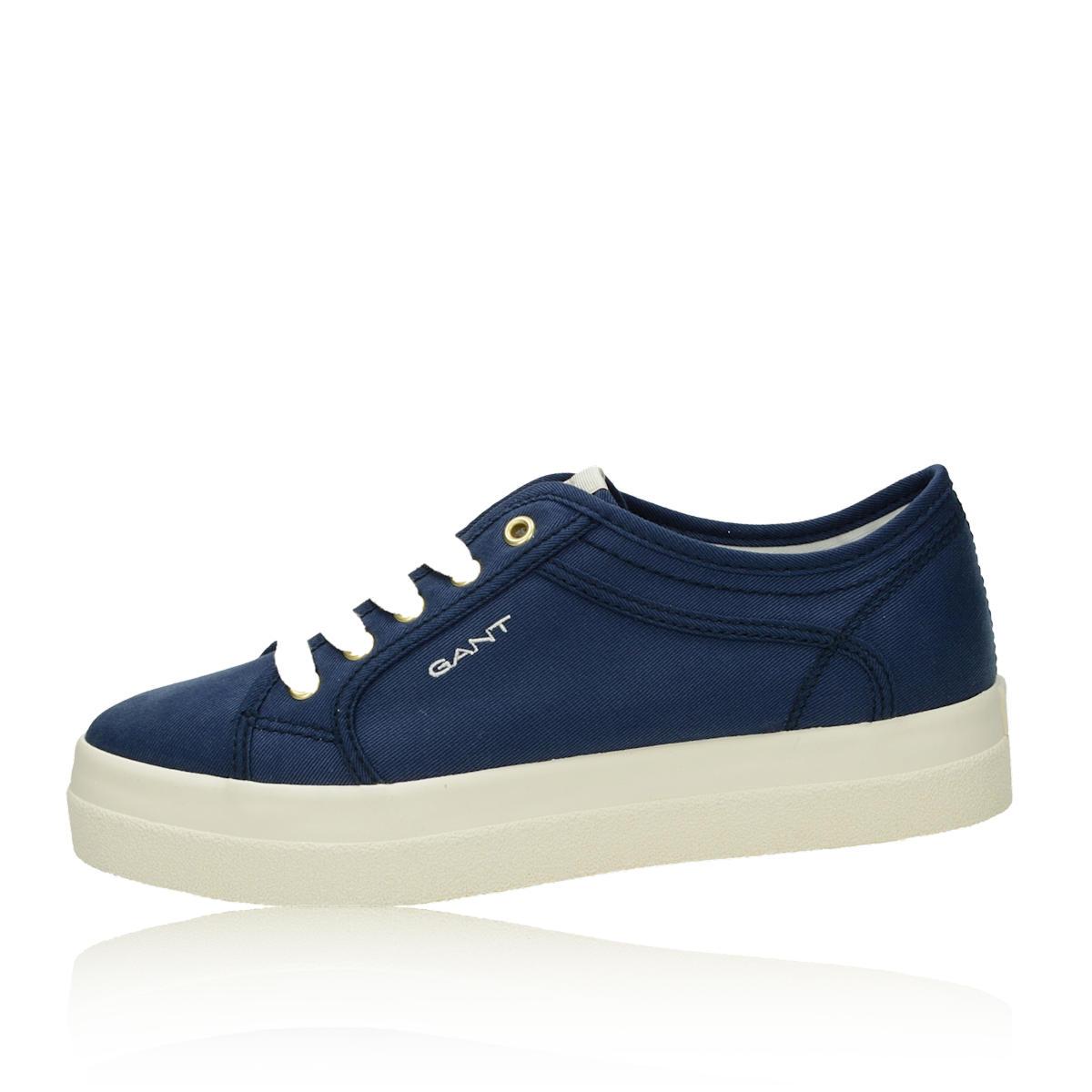 82aa20d95dd6 ... Gant dámske štýlové textilné tenisky - modré ...