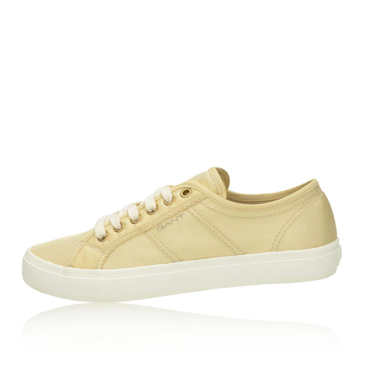 99c8fff210 Gant dámske tenisky - žlté Gant dámske tenisky - žlté ...