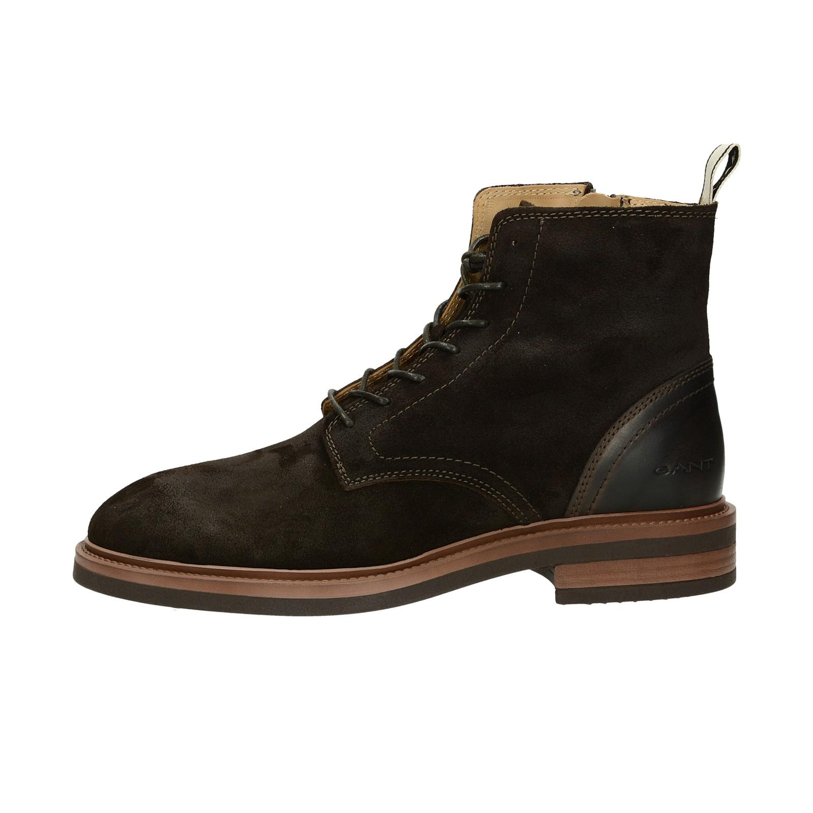 ... Gant pánska semišová členková obuv - tmavohnedá ... 7cef81fdd33