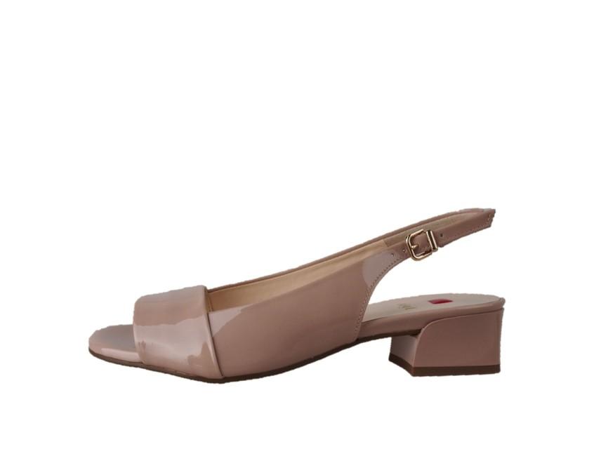 812257e310c Högl dámske lakované sandále - béžové