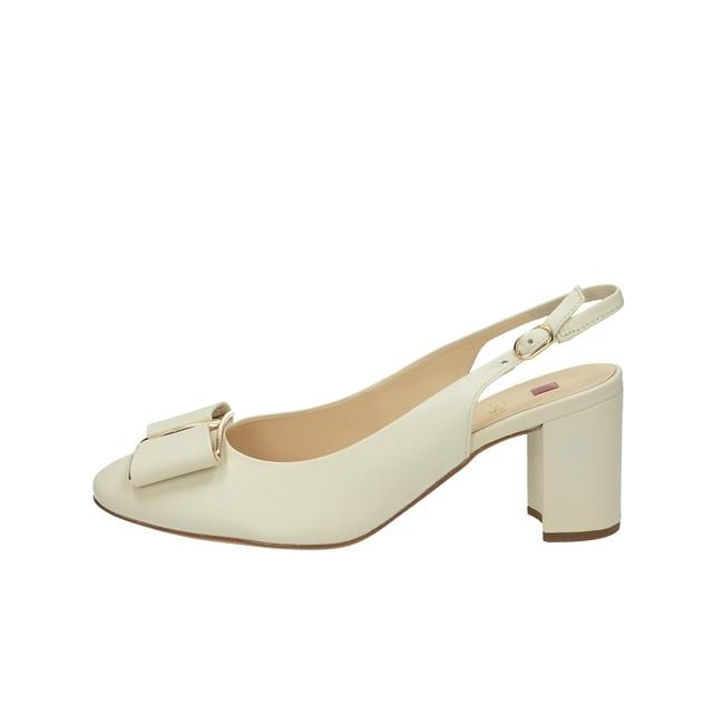 ... Högl dámske kožené sandále s remienkom - béžové ... 5149dd58360