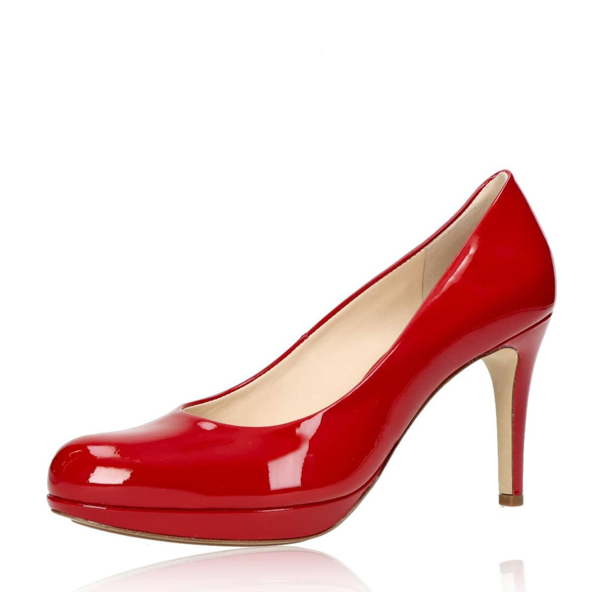 Högl dámske lodičky - červené Högl dámske lodičky - červené ... 61baff4187