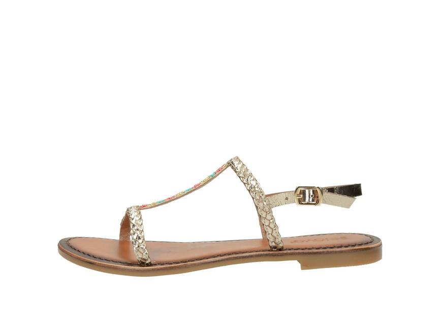 e8d4169f2bdff Inuovo dámske elegantné sandále s ozdobnými prvkami - zlaté | 7299 ...