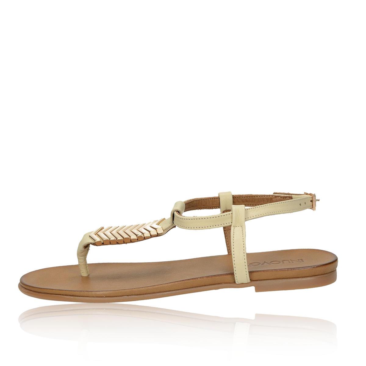ab42ecd7570a6 Inuovo dámske luxusné sandále - béžové Inuovo dámske luxusné sandále -  béžové ...
