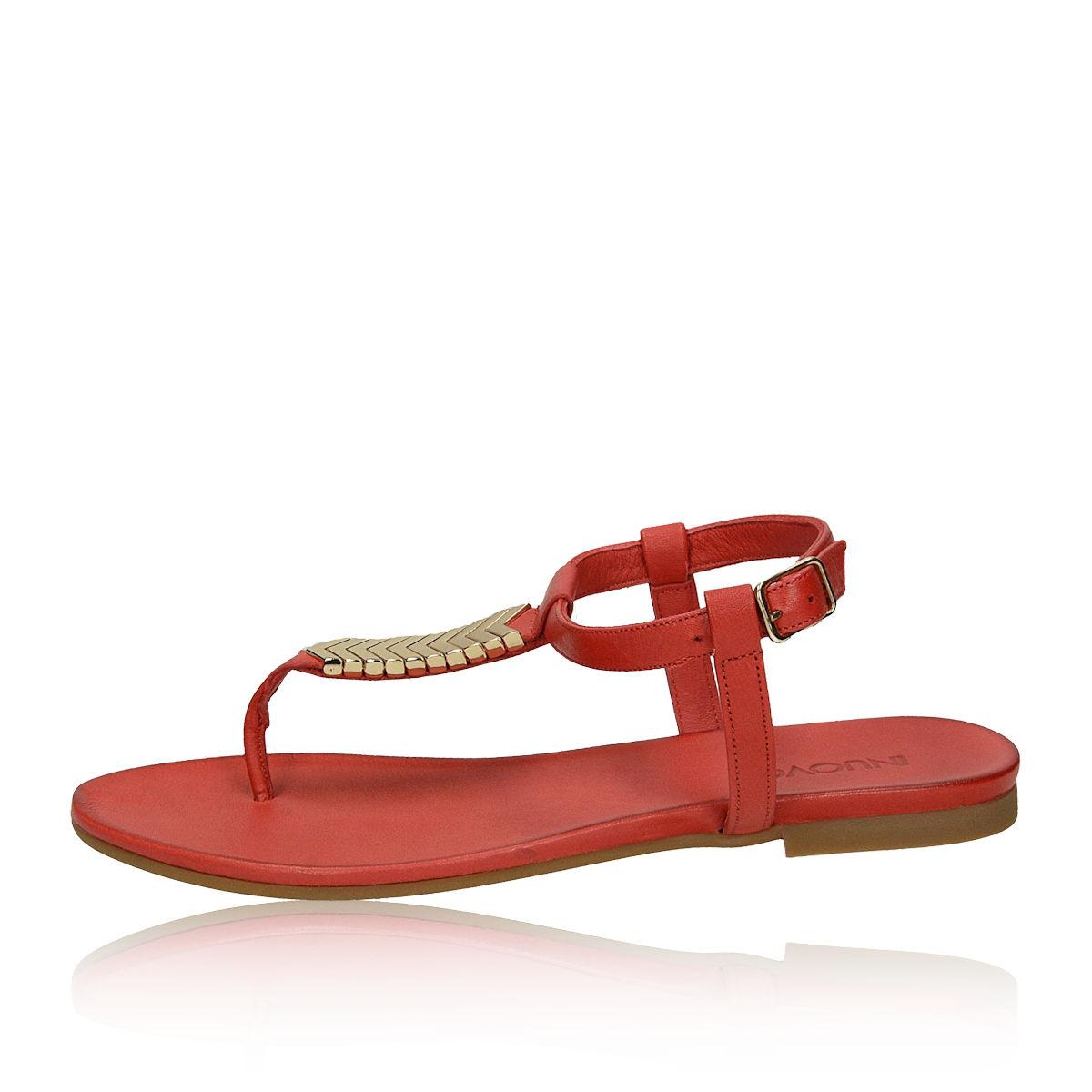 82b0a0283055a Inuovo dámske štýlové sandále - červené Inuovo dámske štýlové sandále -  červené ...