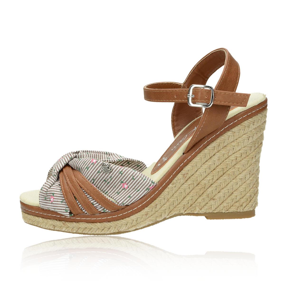 3667cbd094 ... Jane Klein dámske sandále - hnedé ...