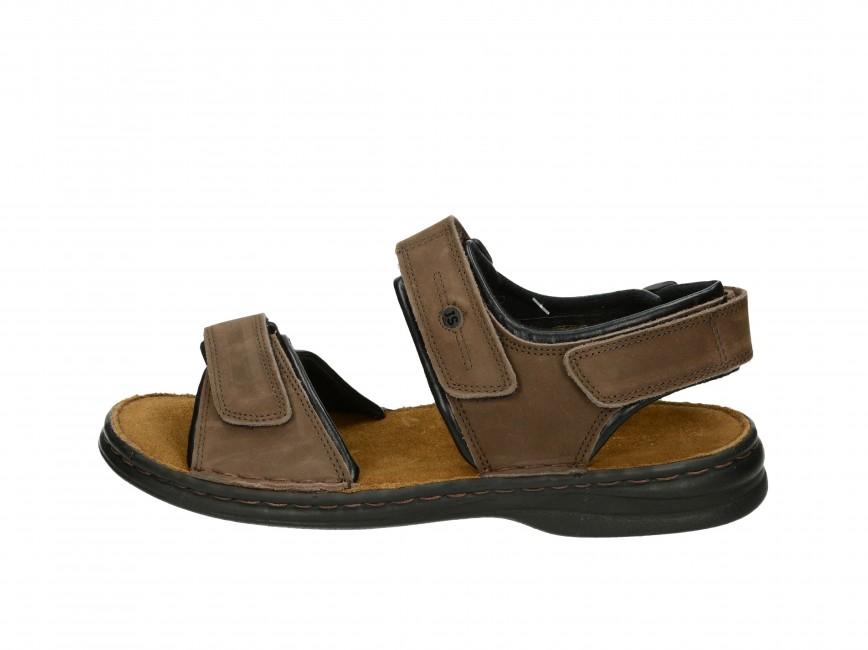 9b270952a1a0 Josef Seibel pánske pohodlné sandále - hnedé ...