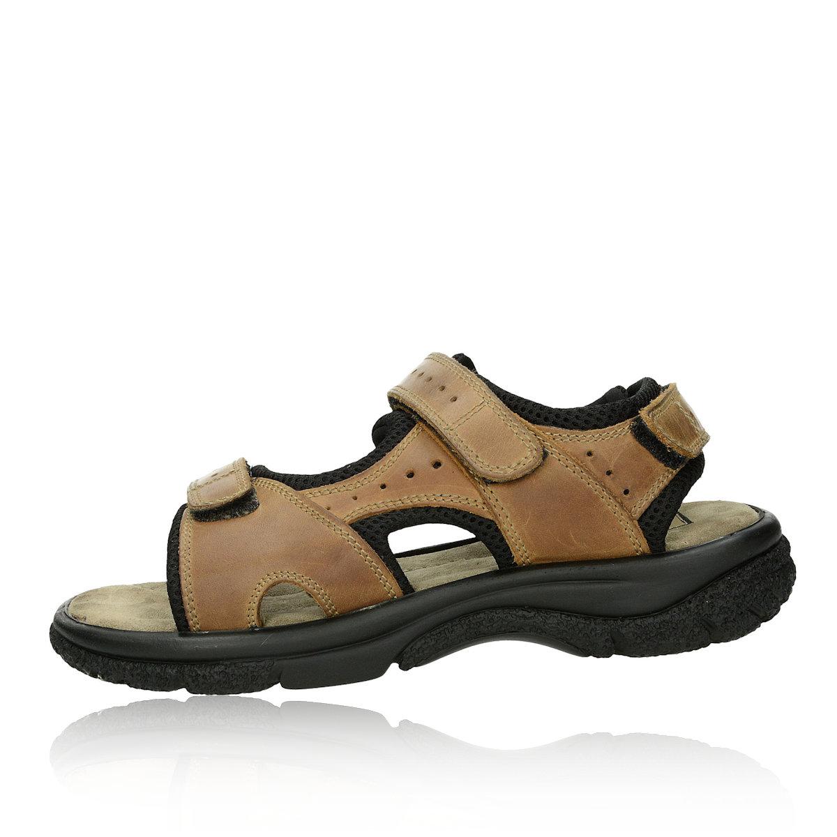 Klondike pánske sandále - hnedé b9bb7d4199f