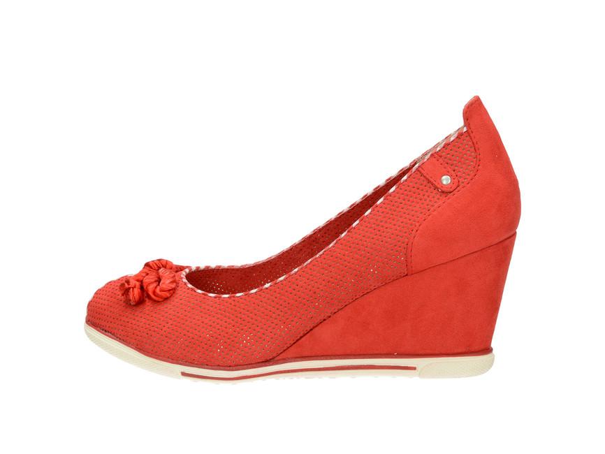 8d5160a18d8 Marco Tozzi dámske lodičky - červené
