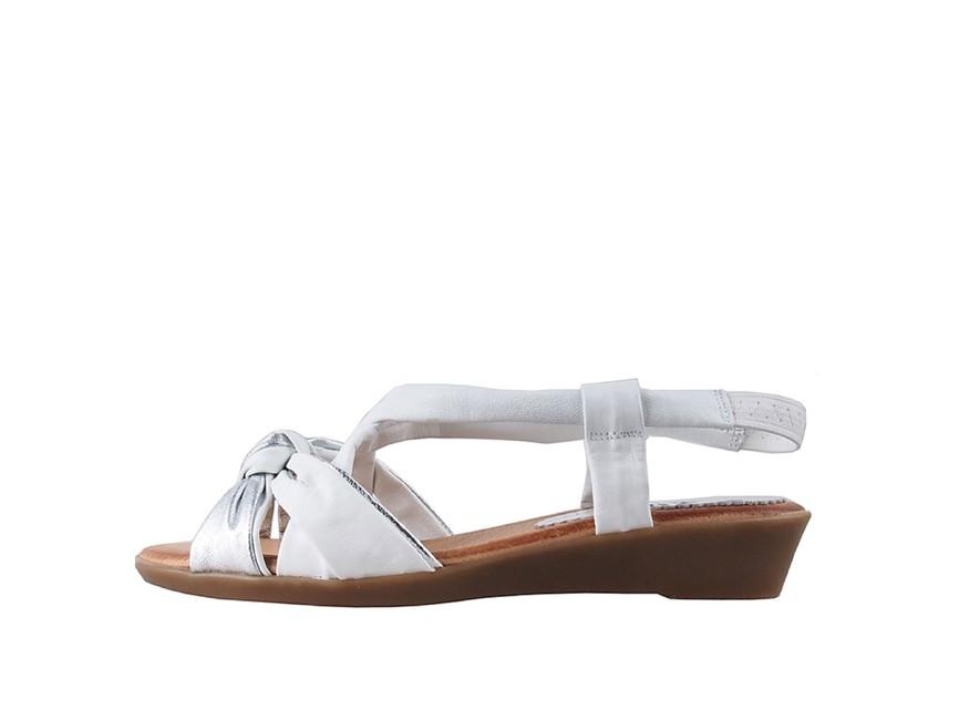 7130c0e637d2 Marila dámske sandále - biele Marila dámske sandále - biele ...