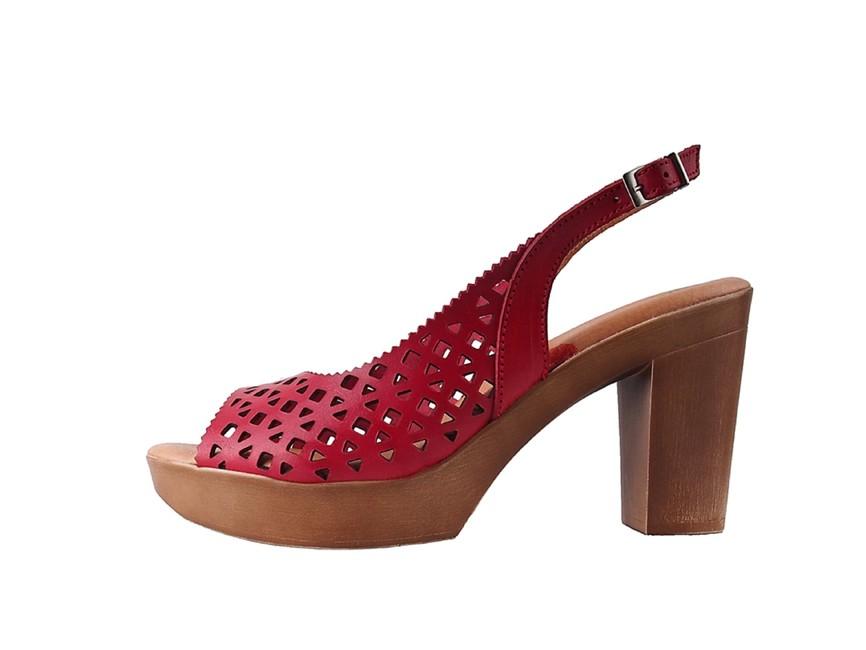 23f6b341a3a6 Marila dámske sandále - červené Marila dámske sandále - červené ...