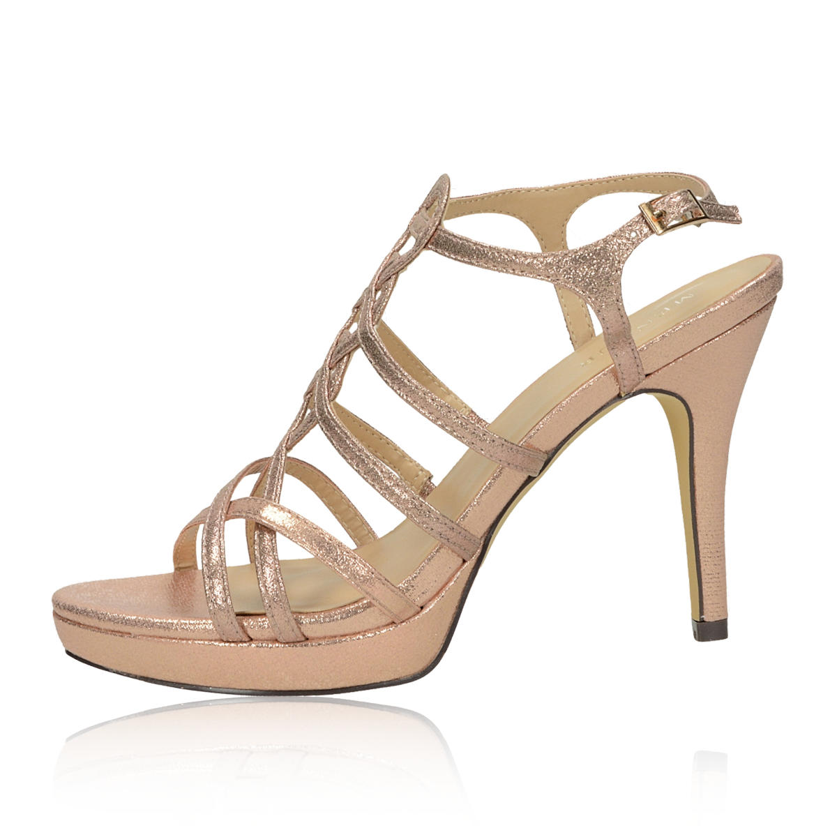 Menbur dámske elegantné sandále - ružové