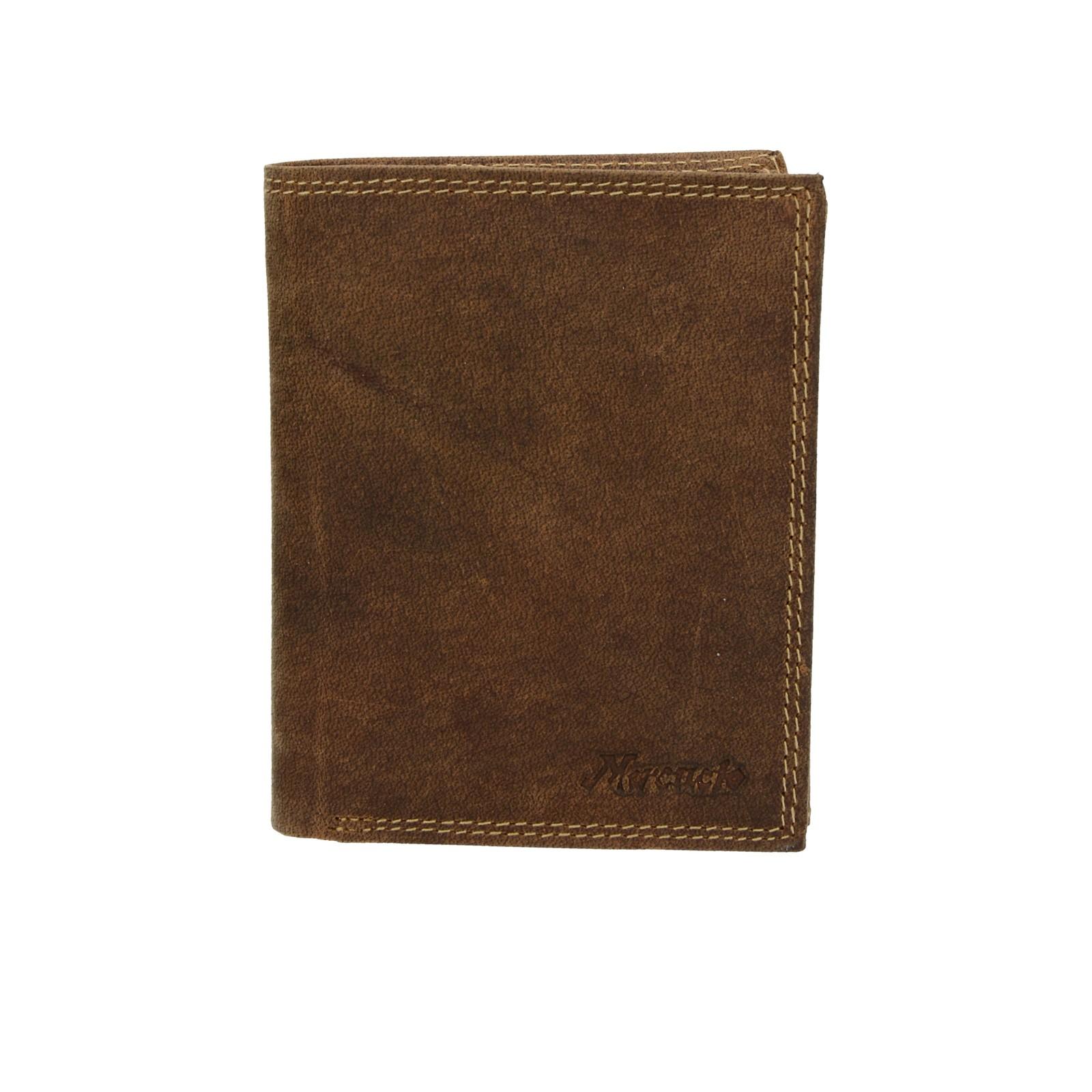 Mercucio pánska kožená peňaženka - hnedá ... 17e35ecc8ab