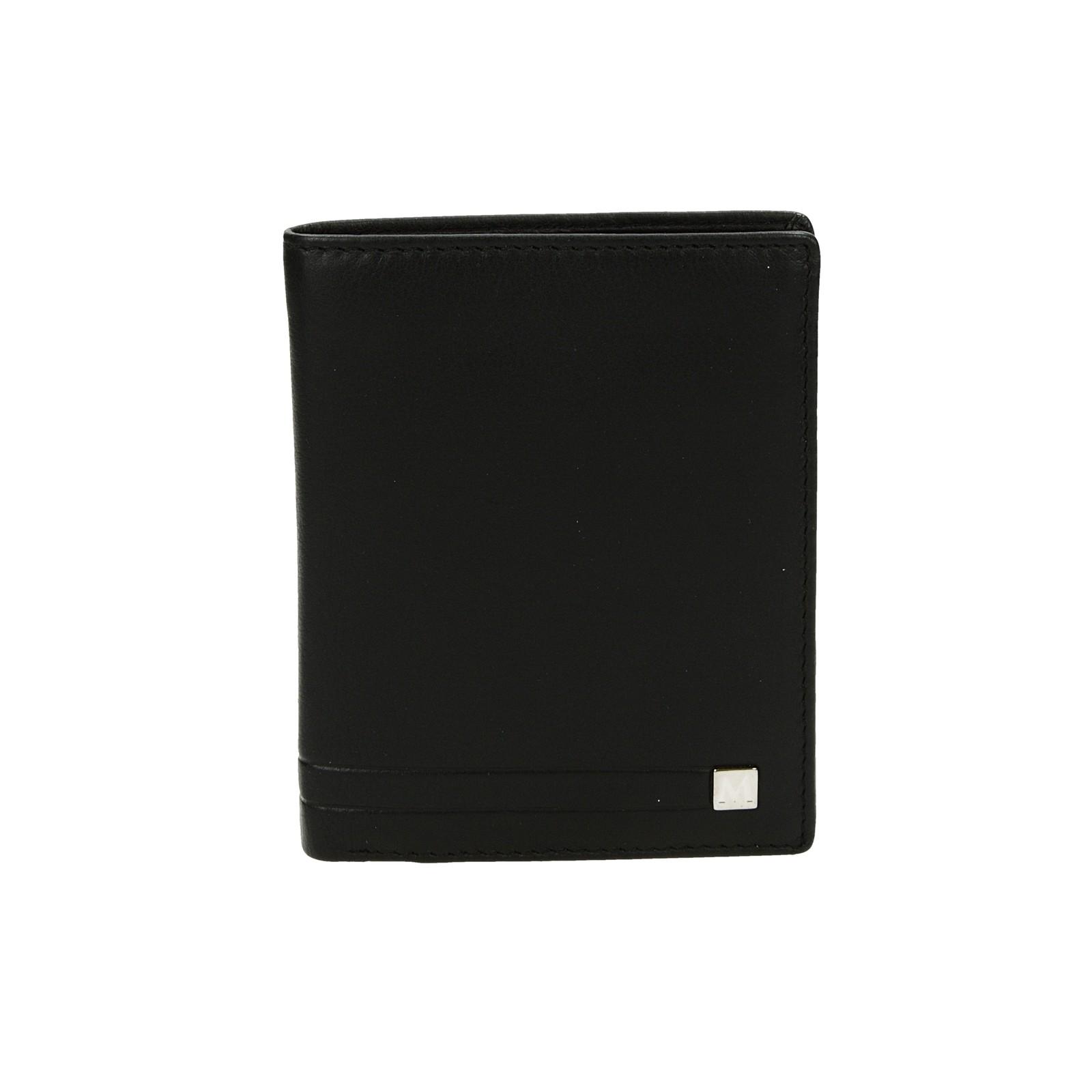 Metropoli pánska kožená peňaženka - čierna