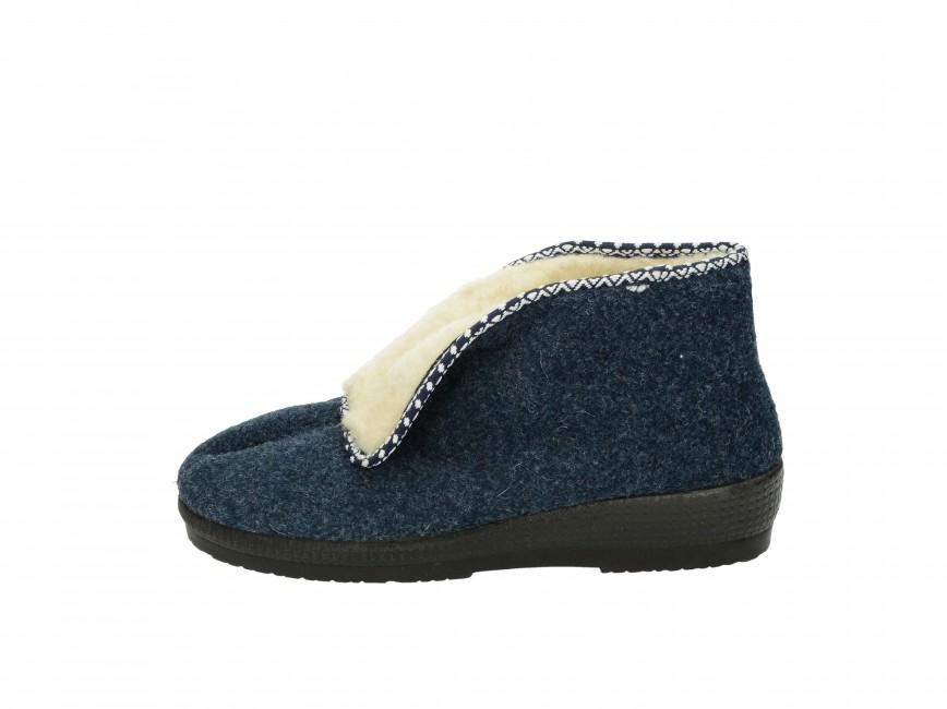 21405ec40f ... Mjartan dámska domáca obuv - modrá ...