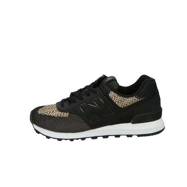 ... New Balance dámske štýlové tenisky - čierne ... 75b5e4acead